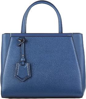 Fendi Women's Petite 2Jours Tote Bag Cobalt