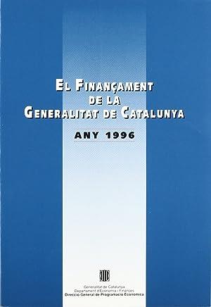 Finançament de la Generalitat de Catalunya. Any 1996/El