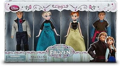 Frozen Disney Exclusive Mini Doll Set [Kristoff, Anna, Elsa, Hans]