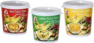 Cock Brand - set de degustación de pastas al curry -