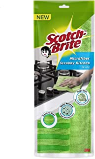 Scotch-Brite Kitchen Scrub Cloth (Pack of 1)(Color May Vary)