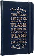 I Know The Plans Hardcover LuxLeather Notebook with Elastic Closure in Cobalt Blue - Jeremiah 29:11 Pocket Journal / Notebook - Jeremiah 29:11