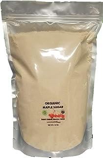 Frost Ridge Maple Farm, Organic Maple Sugar, Grade A, Three Pounds (48 oz)