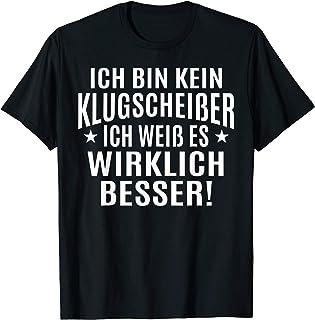 """Sprüche Fun T-Shirt """"Ich bin kein Klugscheisser"""" - Lustig"""