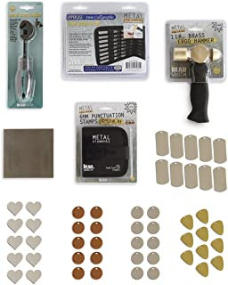 RMP Metal Stamping Kit Calligraphic Uppercase