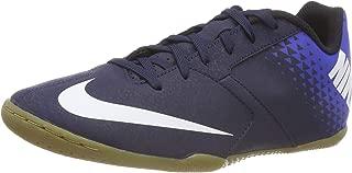 Nike Bombax Indoor Soccer Shoes (M13,  Blue/White)