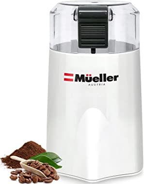 Mueller Austria HyperGrind Precision Electric Spice/Coffee Grinder Mill with Large Grinding Capacity and HD Motor also for Sp