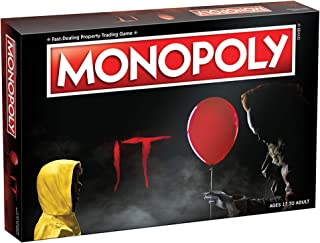 Monopoly IT Board Game   Based on The 2017 Drama/Thriller IT   Officially Licensed IT Merchandise   Themed Classic Monopoly Game