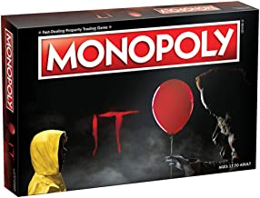 Monopoly IT Board Game | Based on The 2017 Drama/Thriller IT | Officially Licensed IT Merchandise | Themed Classic Monopol...