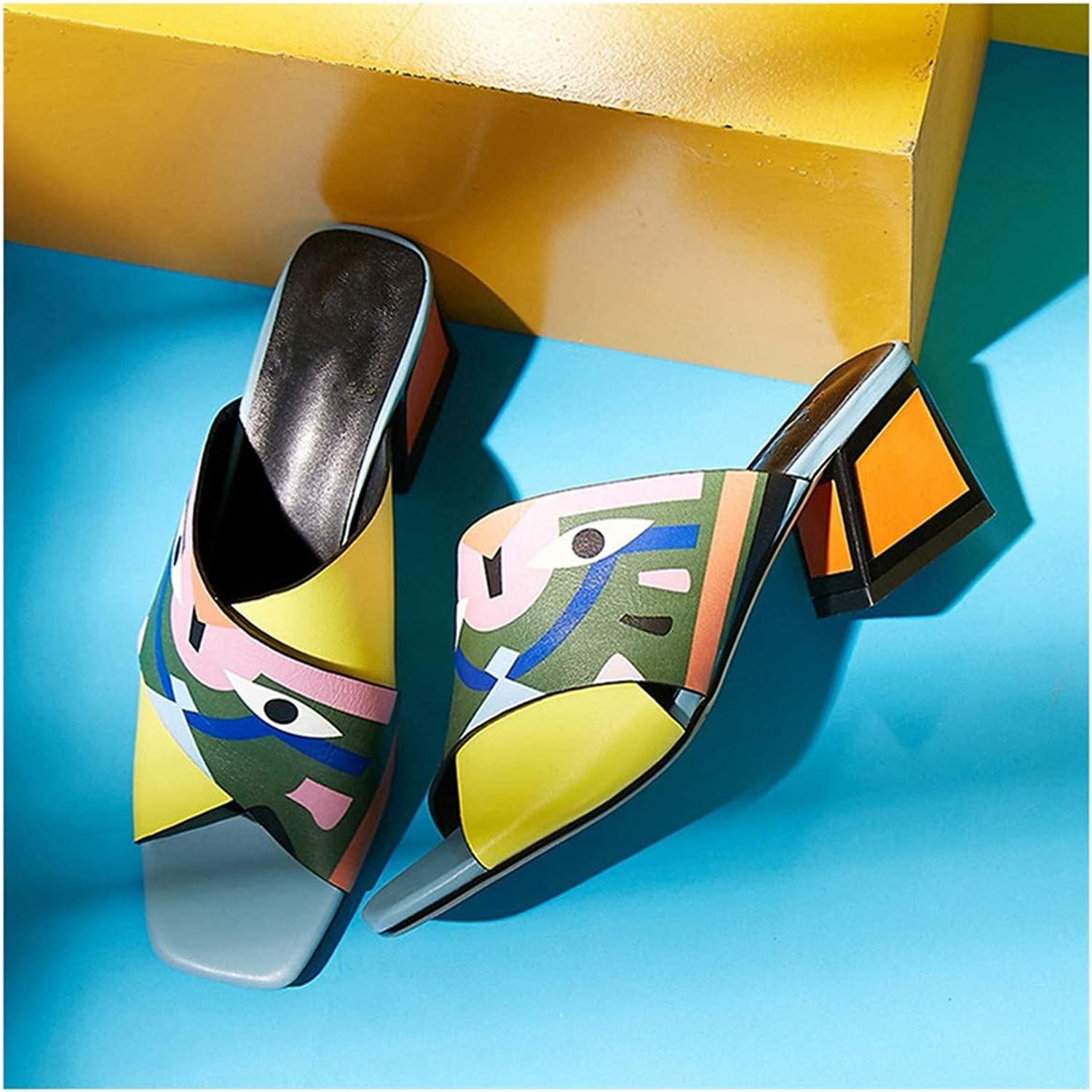 Sexy Women High Heels Pumps Fashion Prints Party Wedding shoes Woman Comfort Quality PU Leather Summer Sandals Pumps