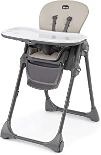 Chicco Polly Chicco Polly® Space-Saving Fold High Chair 6-36m 6m-3y, Taupe