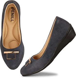 Denill Comfortable (Casual Wedge Heel Ballet Flats for Women and Girls