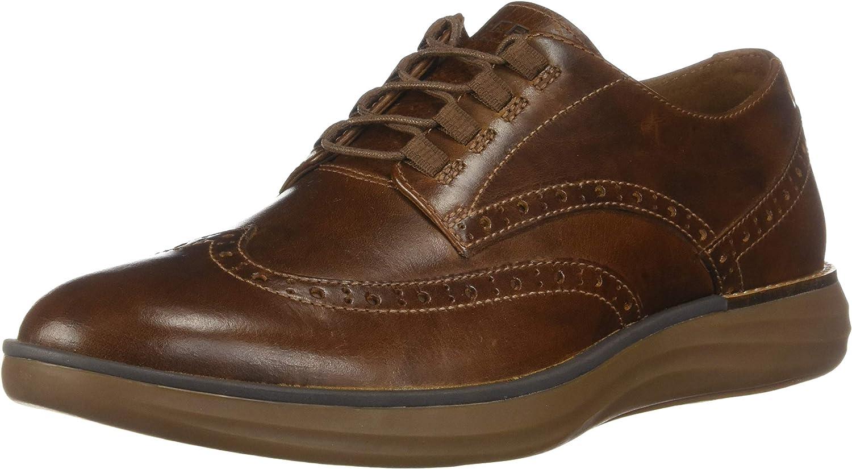Sperry Regatta Wingtip Oxford Brown Leather 8 M (D)