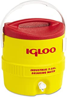 Igloo Beverage Cooler 3 Gal Yellow/Red