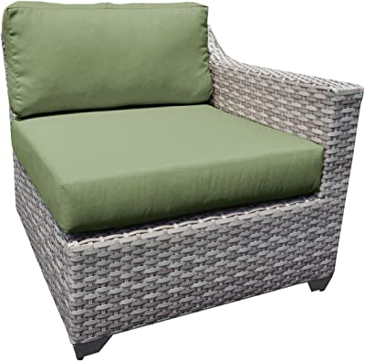 TK Classics Fairmont Left Arm Sofa and Right Arm Sofa, Cilantro