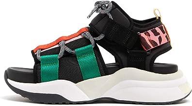 Bimba y Lola Chunky black sandal 192BZ1507