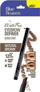 Blue Heaven Walkfree Eye Brow Definer Roll On Stick - Brown, Brown,