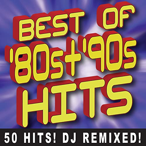 Best of 80s + 90s Hits Workout - 50 Hits DJ Remixed by