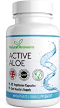 Active Aloe Vera Colon Cleanse Digestive Cleanse Detox 60 Vegetarian Capsules 1 Month Supply UK Manufactured 100 Vegetarian Friendly Well Know Trusted Brand Natural Answers Estimated Price : £ 6,99