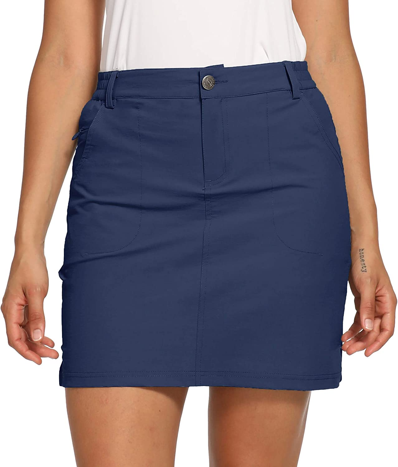 Discount mail order CQC Women's Outdoor Max 66% OFF UPF 50+ Golf Skort Buil Casual Skirts Active