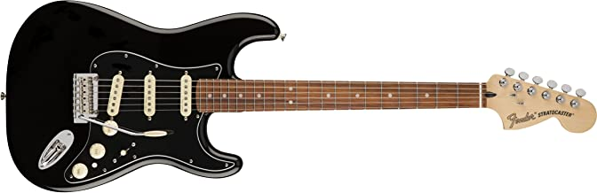 Fender Deluxe Stratocaster - Pau Ferro Fingerboard - Black