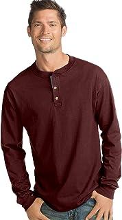Men's Long Sleeve Beefy Henley Shirt