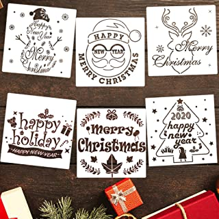 Best christmas stencil cards Reviews