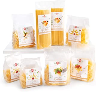 isiBisi Gluten Free Pasta Sampler - Rice and Courn Flour - Made in Italy (104 oz - 8 Pack)