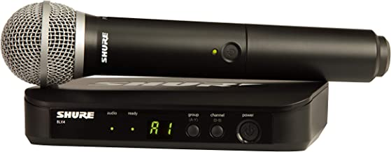 Shure BLX24/PG58 Handheld Wireless System with PG58 Vocal Microphone, J10