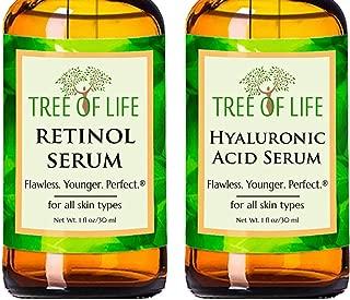 ToLB Anti Aging Serums - Retinol and Hyaluronic Acid Serums