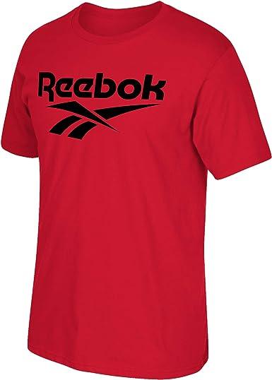Reebok Jungen Camiseta Big Vector Stacked Logo Unterhemd