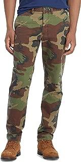 Polo Men's Camouflage Classic Fit Flat Front Cotton Chino Pants (Surplus Camo, 32x30)