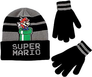 Little Boy Winter Hat Set, Super Mario Kids Beanie and...