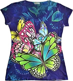 Best butterfly t shirt ladies Reviews