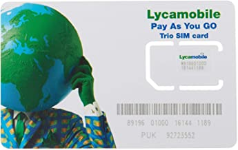 Lycamobile Sim Card $29 Plan Prepaid 2 Months Service - Both Port in and New Activiation Supported