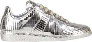 Maison Margiela Luxury Fashion Womens MCGLCAK0000C7064E Silver Sneakers | Season Outlet