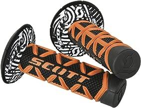 Scott Sports USA Orange/Black One Size Scott Sports 219626-1008 Diamond Motorcycle Grips w/Donuts