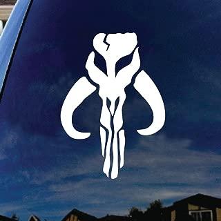 SoCoolDesign Mandalorian Mythosaur Bantha Skull Car Window Vinyl Decal Sticker 4