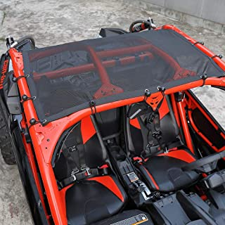 X3 Soft Top Mesh Roof for Can Am Maverick X3 XDS XRS Turbo R 2 Seaters