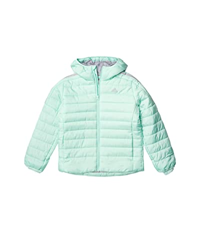 adidas Kids Puffer Jacket Classic (Big Kids) (Mint) Girl