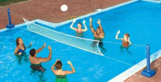 9186 In Ground Swimming Pool Volleyball Game