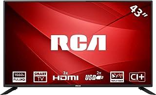 RCA RS43F1: 109 cm (43 Pouces) Smart-TV téléviseur LED (Full HD, Tuner Triple, HDMI,..