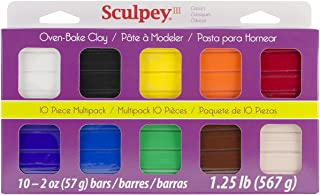 Sculpey III Multipack-Classic Collection, 1-Pack