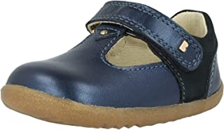 Bobux Step Up Louise Navy Shimmer Leather Infant First Walkers Shoes