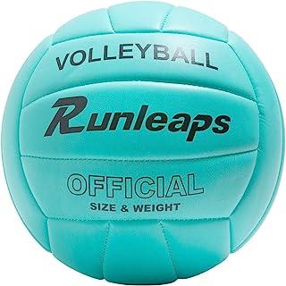 والیبال Runleaps ، والیبال داخل سالن ضد آب برای تمرینات بدنسازی در ساحل (اندازه رسمی 5)