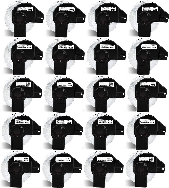 NineLeaf 20 Roll Wholesale 800 Labels Small La Die-Cut Address per New Shipping Free