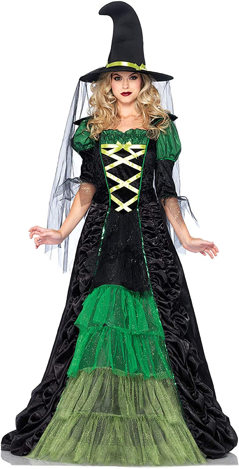 Leg Attention brand Avenue Women's 2 Piece Storybook Witch Costume Max 61% OFF