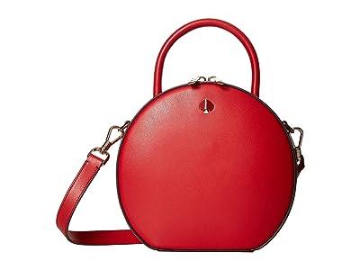 Kate Spade New York Andi Canteen (Hot Chili) Handbags