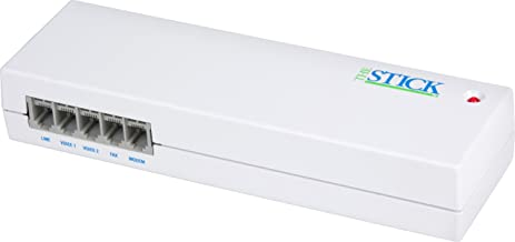 Multi-link 4 Port Fax/Modem Switch Stick