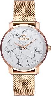 Bali Watches | 38 MM Women's Analog Minimalist Watch | Stainless Steel Mesh Bracelet